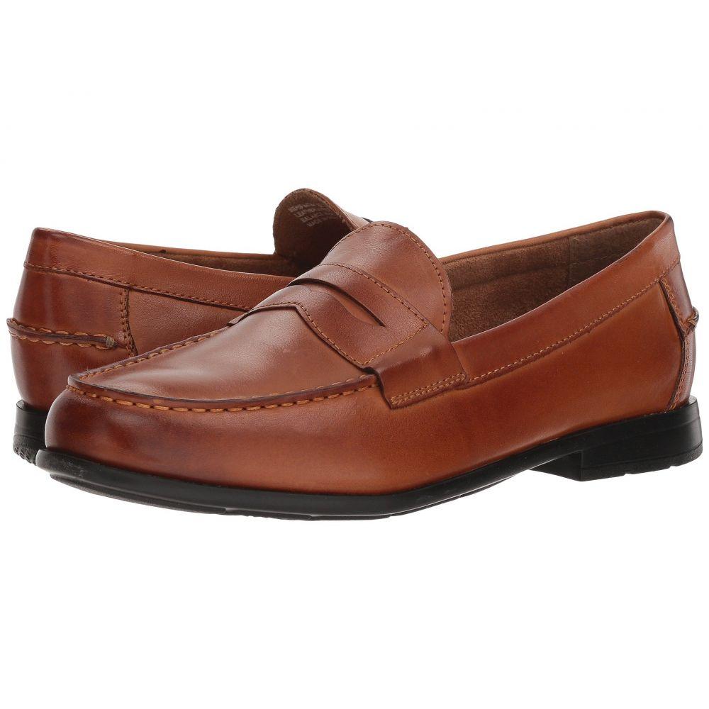 ナンブッシュ メンズ シューズ・靴 ローファー【Drexel Moc Toe Penny Loafer with KORE Walking Comfort Technology】Cognac