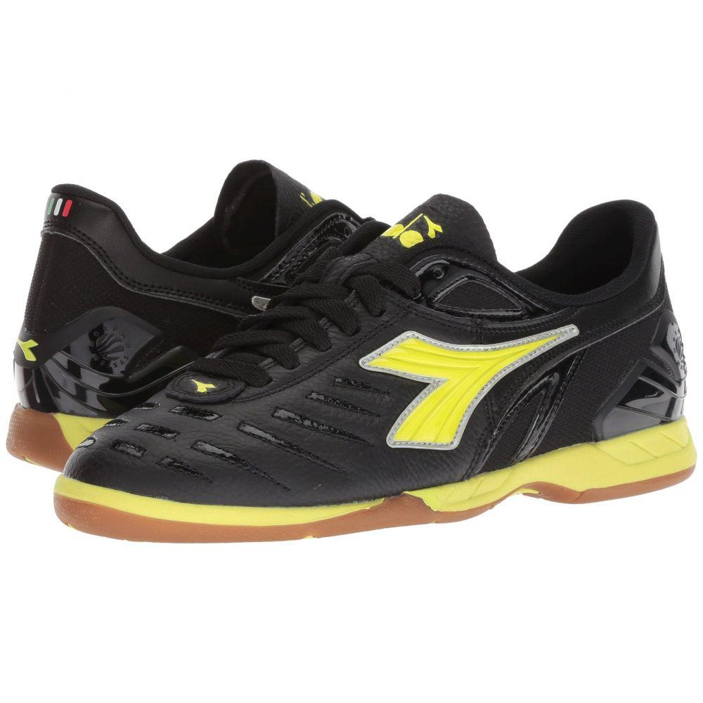 ディアドラ レディース サッカー シューズ・靴【Maracana 18 W ID】Black/Fluo Yellow