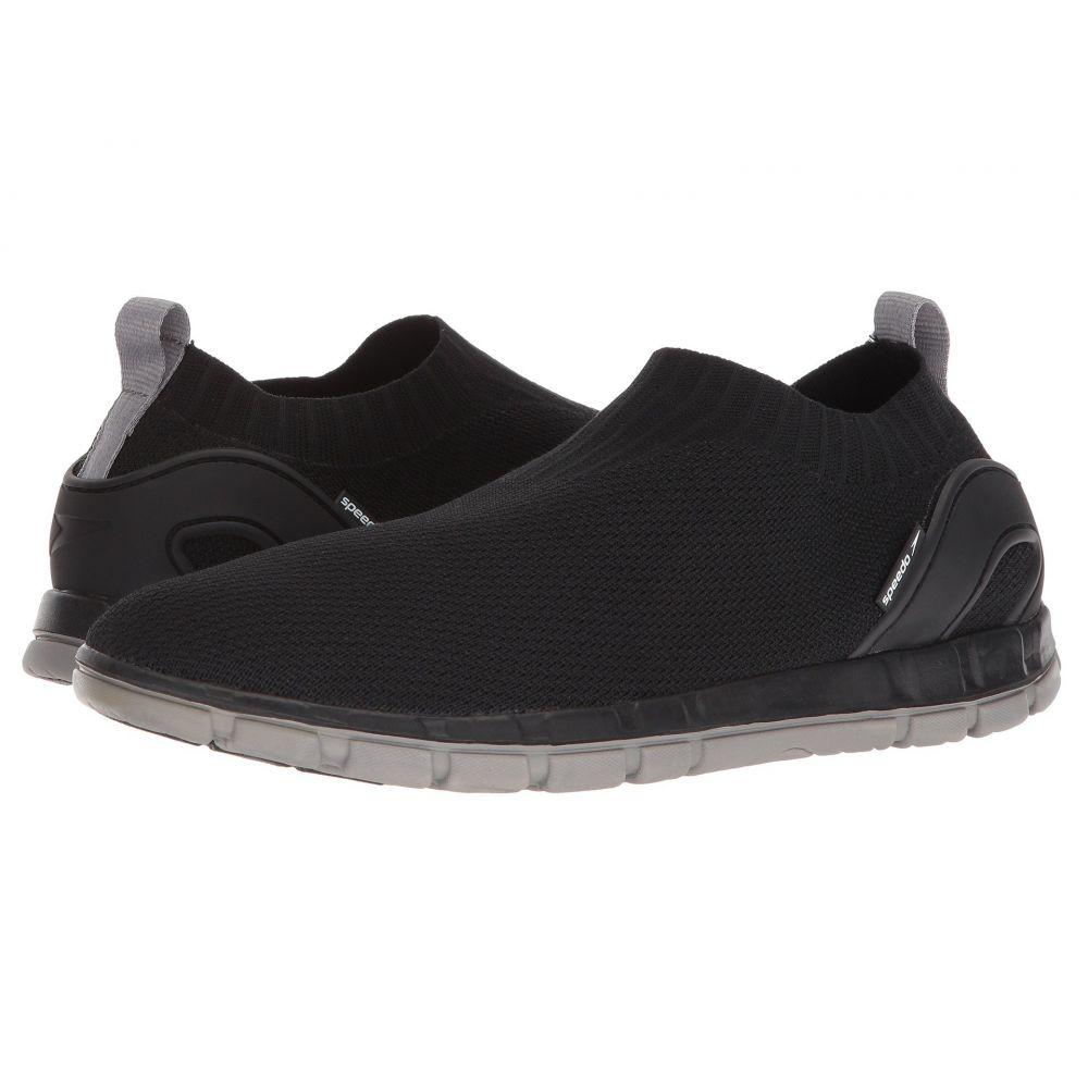 スピード メンズ フィットネス・トレーニング シューズ・靴【Surf Knit Edge】Black/Grey