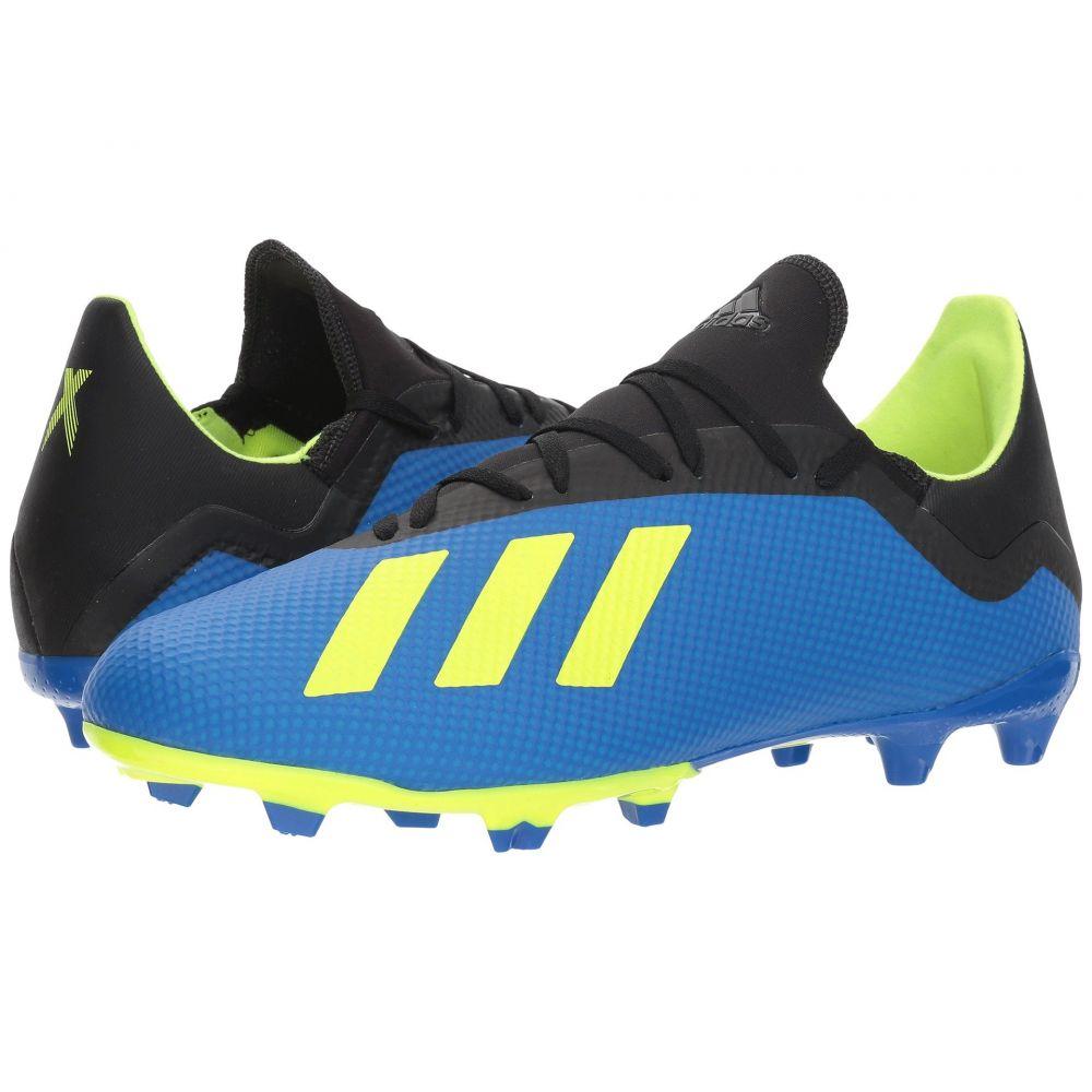 アディダス メンズ サッカー シューズ・靴【X 18.3 FG】Football Blue/Solar Yellow/Black