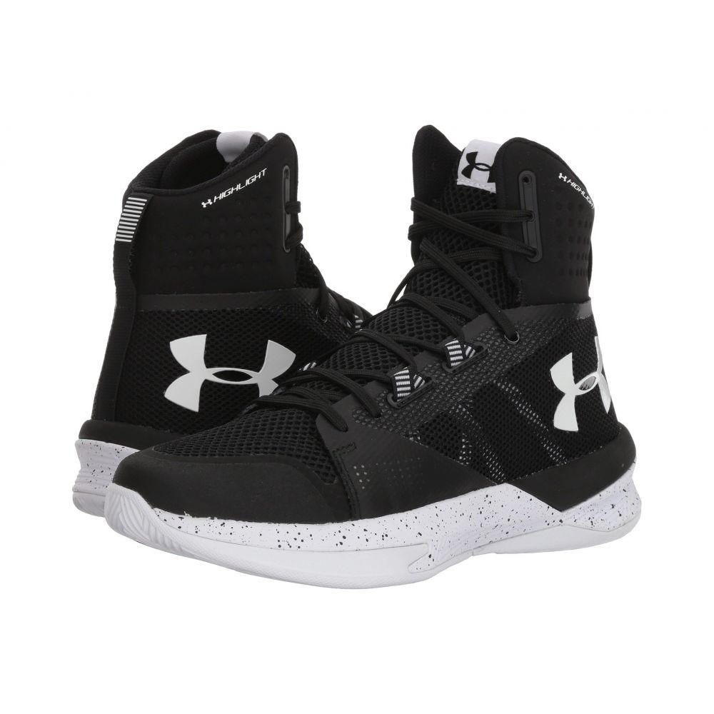 アンダーアーマー レディース バレーボール シューズ・靴【UA Highlight Ace】Black/Black/White