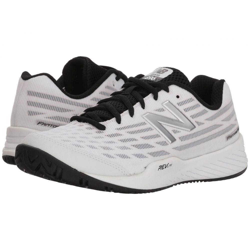 ニューバランス レディース テニス シューズ・靴【WCH896v2】White/Pigment