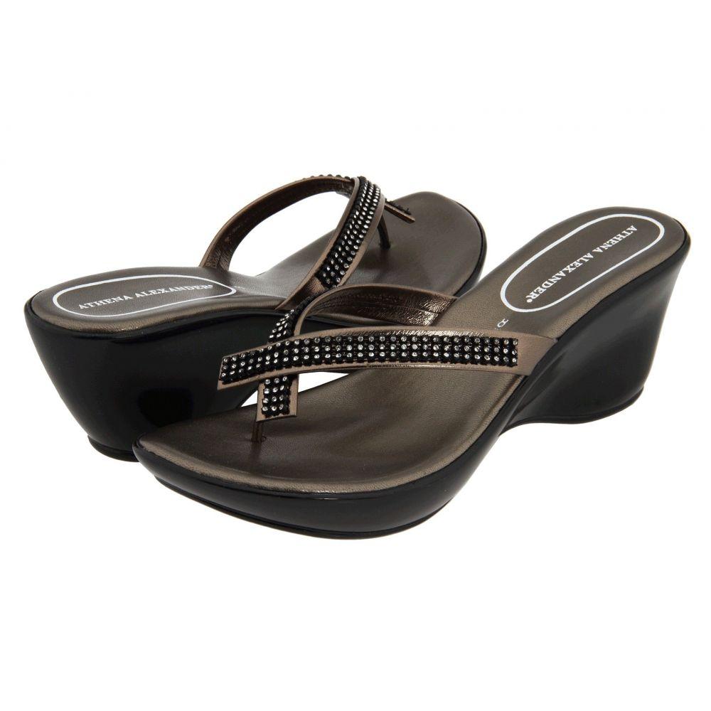 アテナ アレクサンダー Athena Alexander レディース シューズ・靴 サンダル・ミュール【Roxi】Pewter