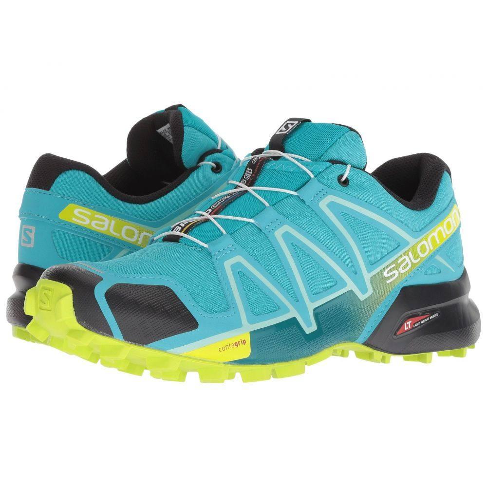 サロモン Salomon レディース ランニング・ウォーキング シューズ・靴【Speedcross 4】Bluebird/Acid Lime/Black