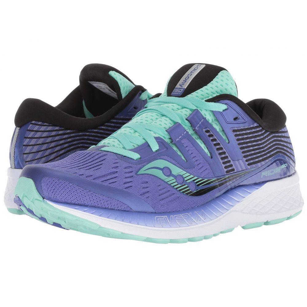 サッカニー Saucony レディース ランニング・ウォーキング シューズ・靴【Ride ISO】Violet/Black/Aqua