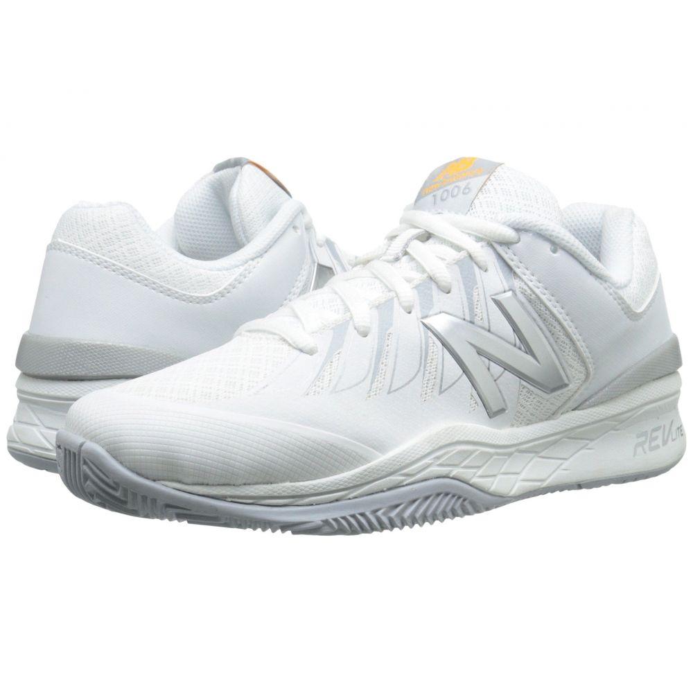 ニューバランス New Balance レディース シューズ・靴 スニーカー【WC1006v1】White/Silver