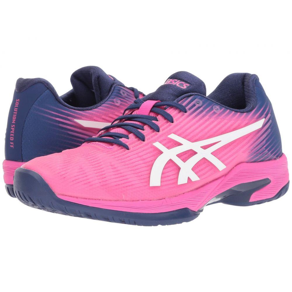 アシックス ASICS レディース テニス シューズ・靴【Solution Speed FF】Pink Glo/White