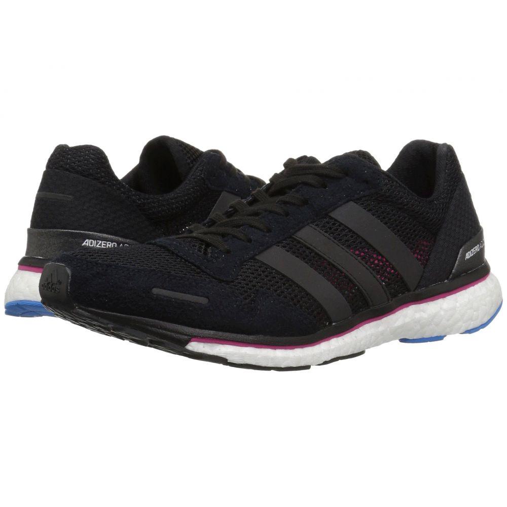 アディダス adidas Running レディース ランニング・ウォーキング シューズ・靴【Adizero Adios 3】Black/Real Magenta/Bright Blue