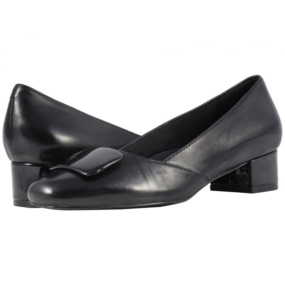 トロッターズ Trotters レディース シューズ・靴 パンプス【Delse】Black Soft Nappa Leather