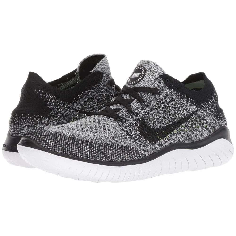 ナイキ Nike レディース ランニング・ウォーキング シューズ・靴【Free RN Flyknit】White/Black