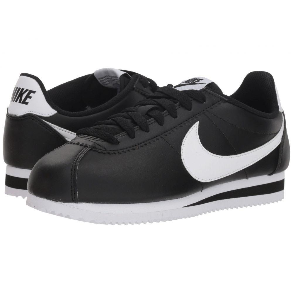 ナイキ Nike レディース シューズ・靴 スニーカー【Classic Cortez Leather】Black/White/White
