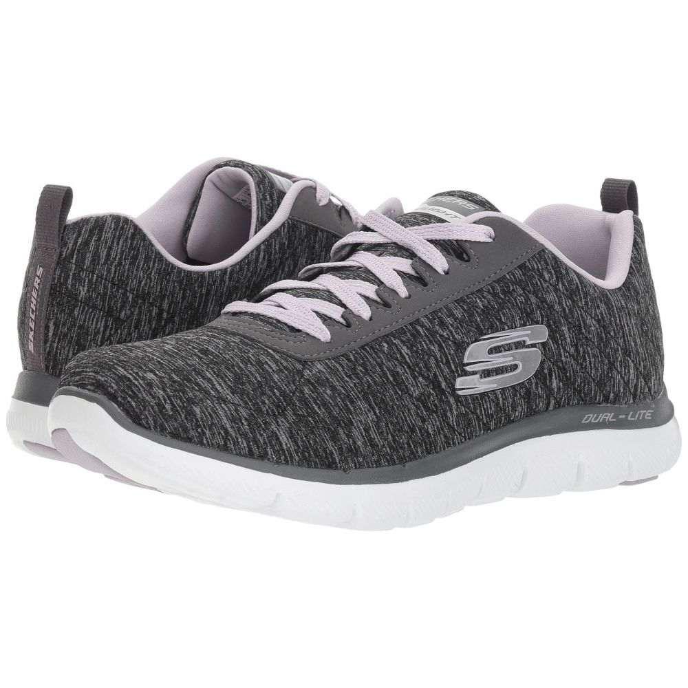 スケッチャーズ SKECHERS レディース シューズ・靴 スニーカー【Flex Appeal 2.0】Black/Lavendar