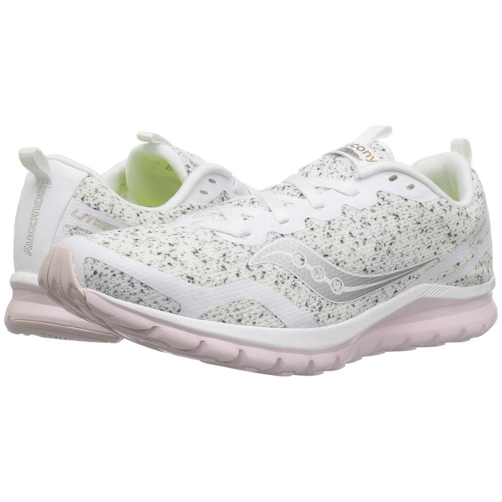 サッカニー Saucony レディース ランニング・ウォーキング シューズ・靴【Liteform Feel】White