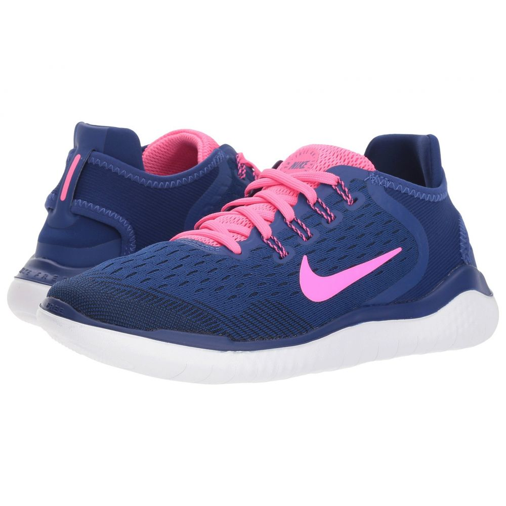 ナイキ Nike レディース ランニング・ウォーキング シューズ・靴【Free RN 2018】Deep Royal Blue/Pink Blast/Obsidian