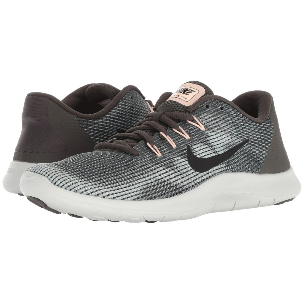 ナイキ Nike レディース ランニング・ウォーキング シューズ・靴【Flex RN 2018】Newsprint/Black/Dark Stucco/Light Silver