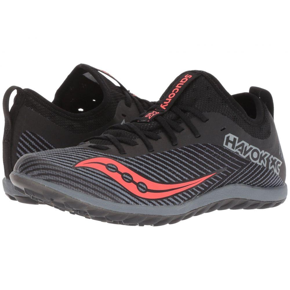 サッカニー Saucony レディース ランニング・ウォーキング シューズ・靴【Havok XC2 Flat】Black/Grey/Vizi Red