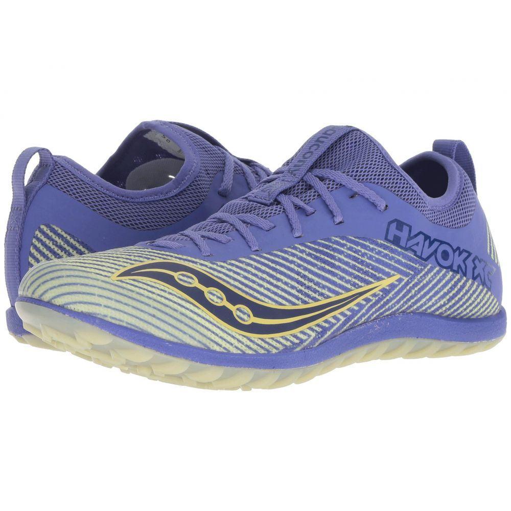サッカニー Saucony レディース ランニング・ウォーキング シューズ・靴【Havok XC2 Flat】Purple/Yellow