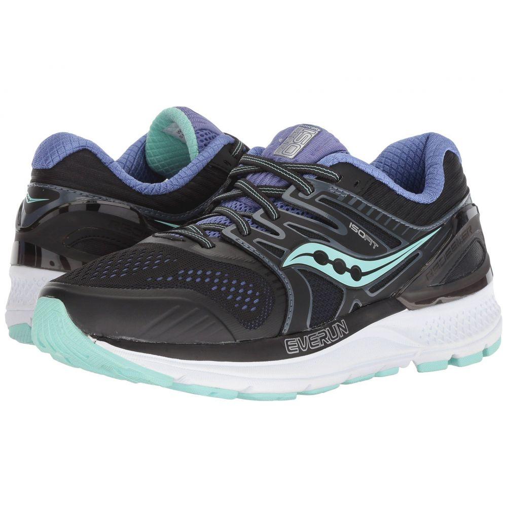 サッカニー Saucony レディース ランニング・ウォーキング シューズ・靴【Redeemer ISO】Black/Aqua/Violet