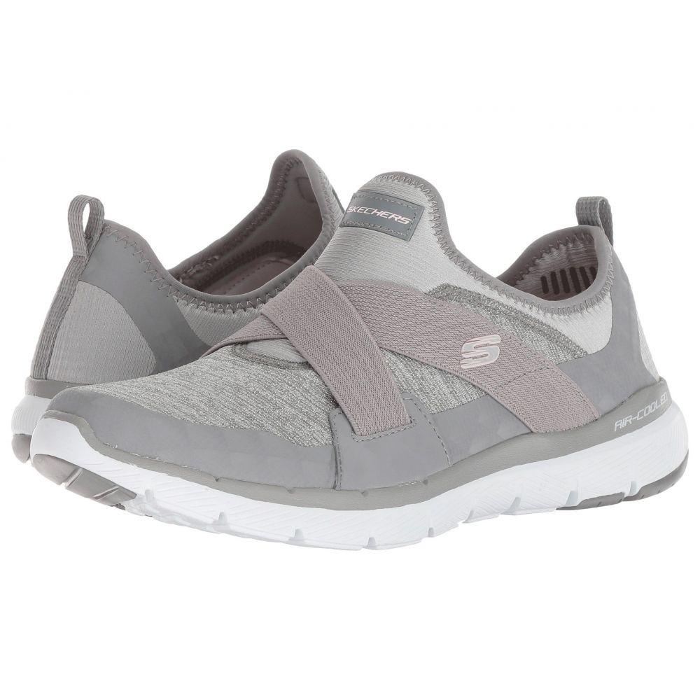 スケッチャーズ SKECHERS レディース ランニング・ウォーキング シューズ・靴【Flex Appeal 3.0】Gray