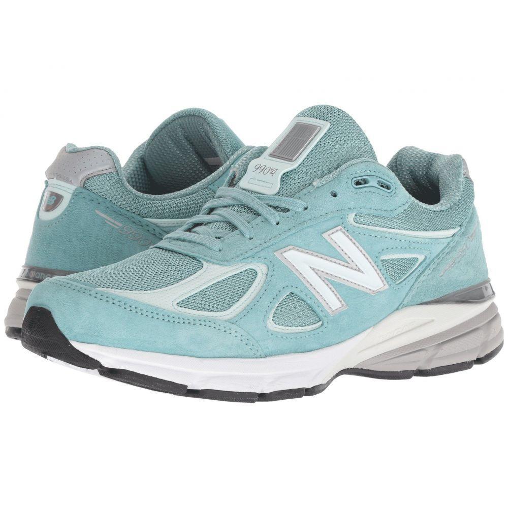 ニューバランス New Balance レディース ランニング・ウォーキング シューズ・靴【W990v4】Mineral Sage/Seafoam