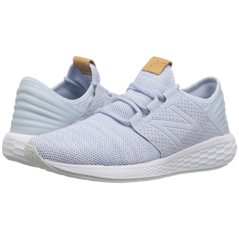 ニューバランス New Balance レディース ランニング・ウォーキング シューズ・靴【Fresh Foam Cruz v2 Knit】Ice Blue/White