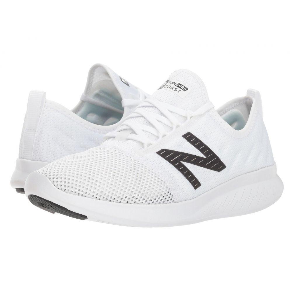 ニューバランス New Balance レディース ランニング・ウォーキング シューズ・靴【Coast v4】White/Black
