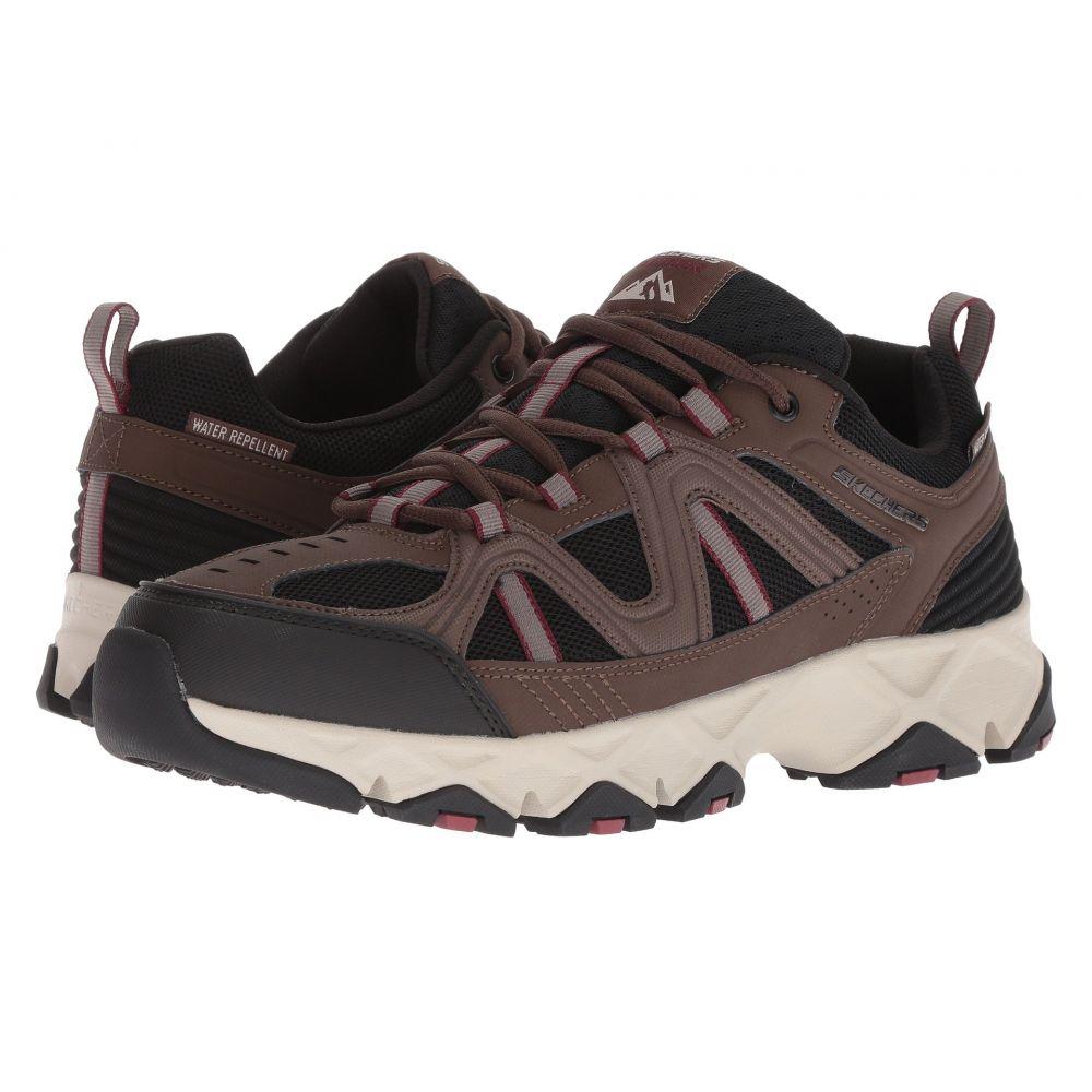 スケッチャーズ SKECHERS メンズ ハイキング・登山 シューズ・靴【Crossbar】Brown/Black