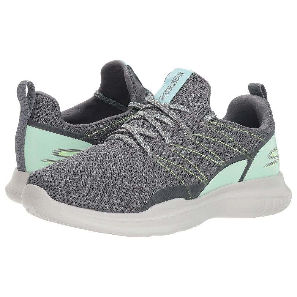 スケッチャーズ SKECHERS レディース ランニング・ウォーキング シューズ・靴【Go Run Mojo 14845】Charcoal/Aqua