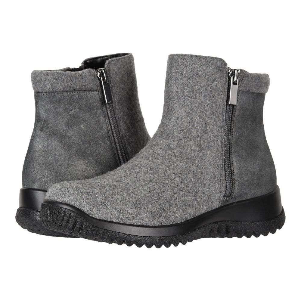ドリュー Drew レディース シューズ・靴 ブーツ【Kool】Grey Suede/Flannel