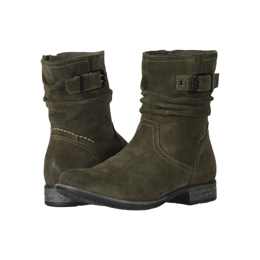 カルソーアースシューズ Earth レディース シューズ・靴 ブーツ【Beaufort】Olive Suede