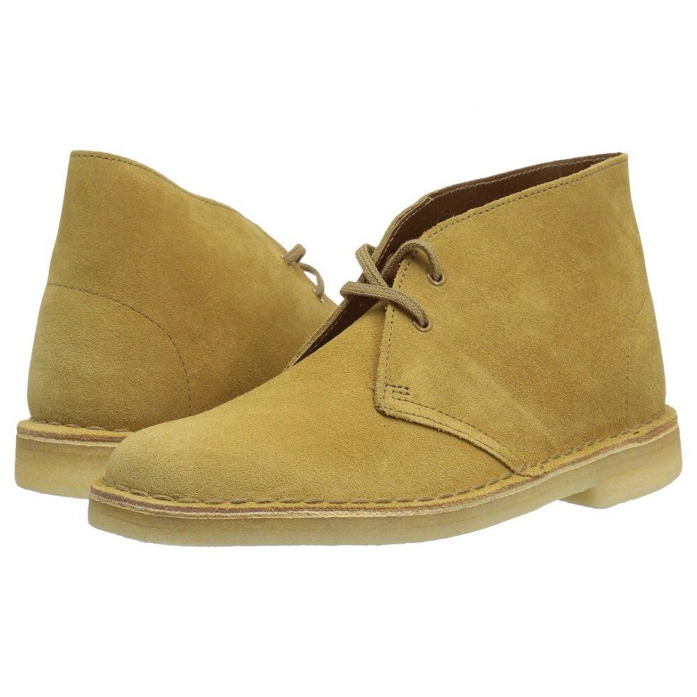 クラークス Clarks レディース シューズ・靴 ブーツ【Desert Boot】Oak Suede