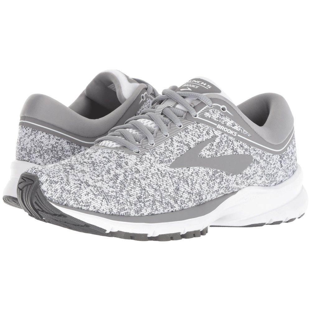 ブルックス Brooks レディース ランニング・ウォーキング シューズ・靴【Launch 5】White/Grey/Ebony