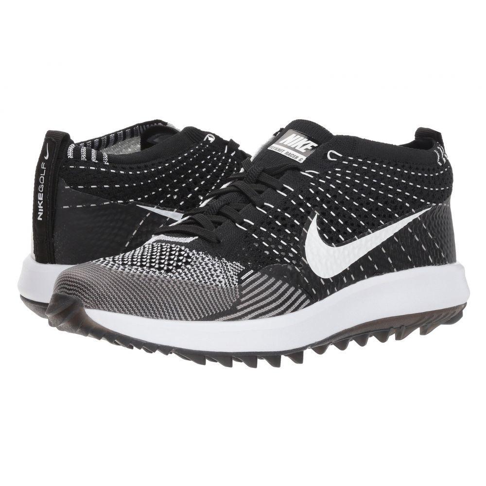 ナイキ Nike Golf レディース ゴルフ シューズ・靴【Flyknit Racer G】Black/White