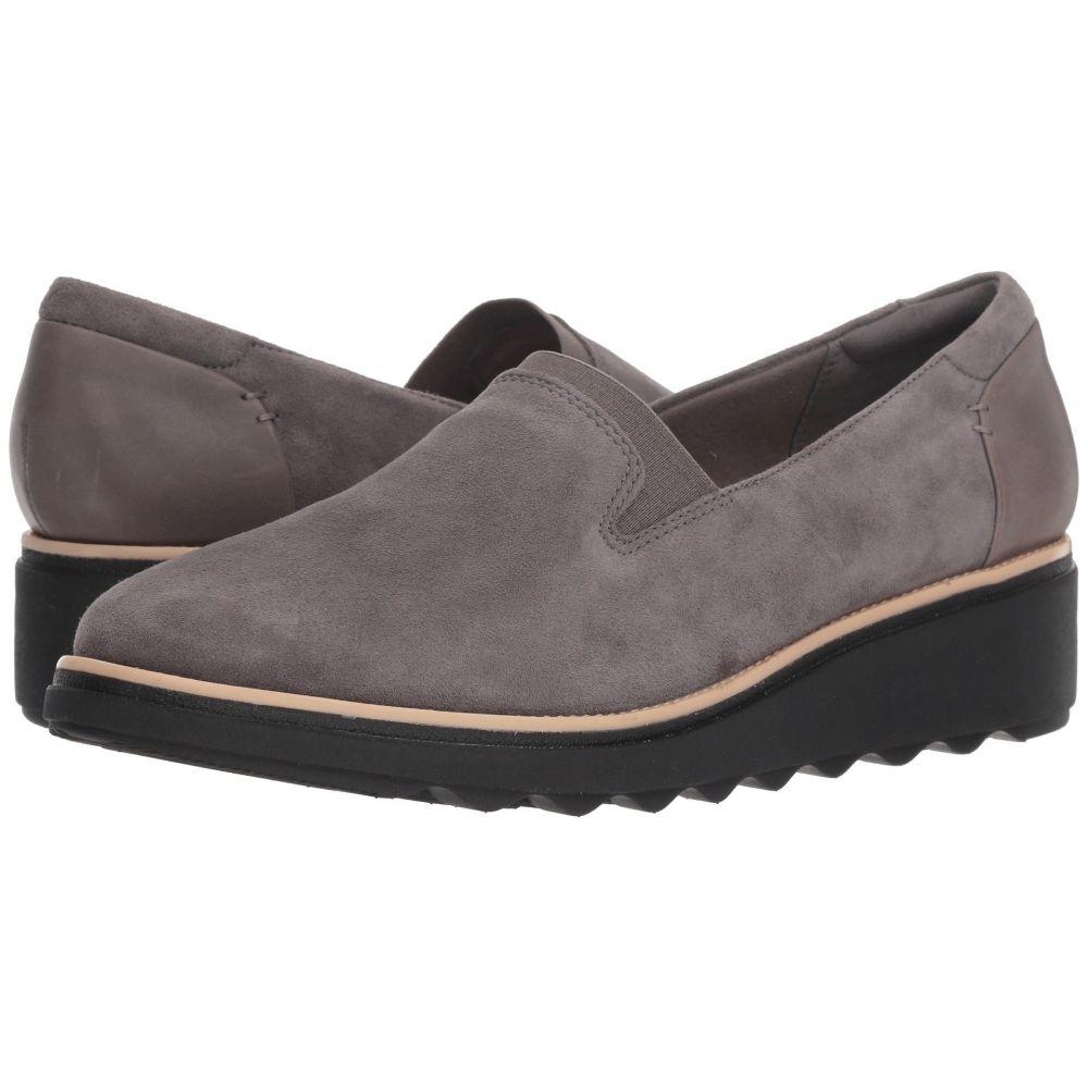 クラークス Clarks レディース シューズ・靴 ローファー・オックスフォード【Sharon Dolly】Grey Suede
