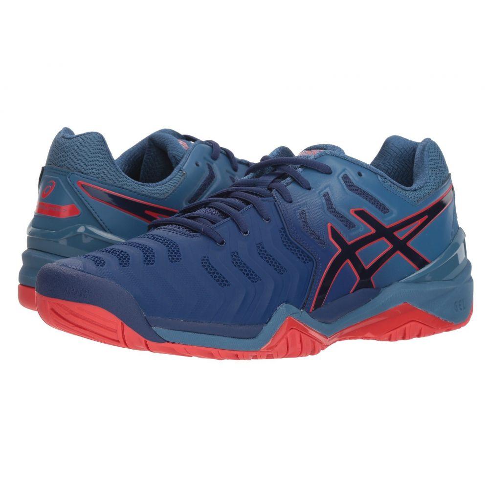 アシックス ASICS メンズ テニス シューズ・靴【Gel-Resolution 7】Blue Print/Blue Print
