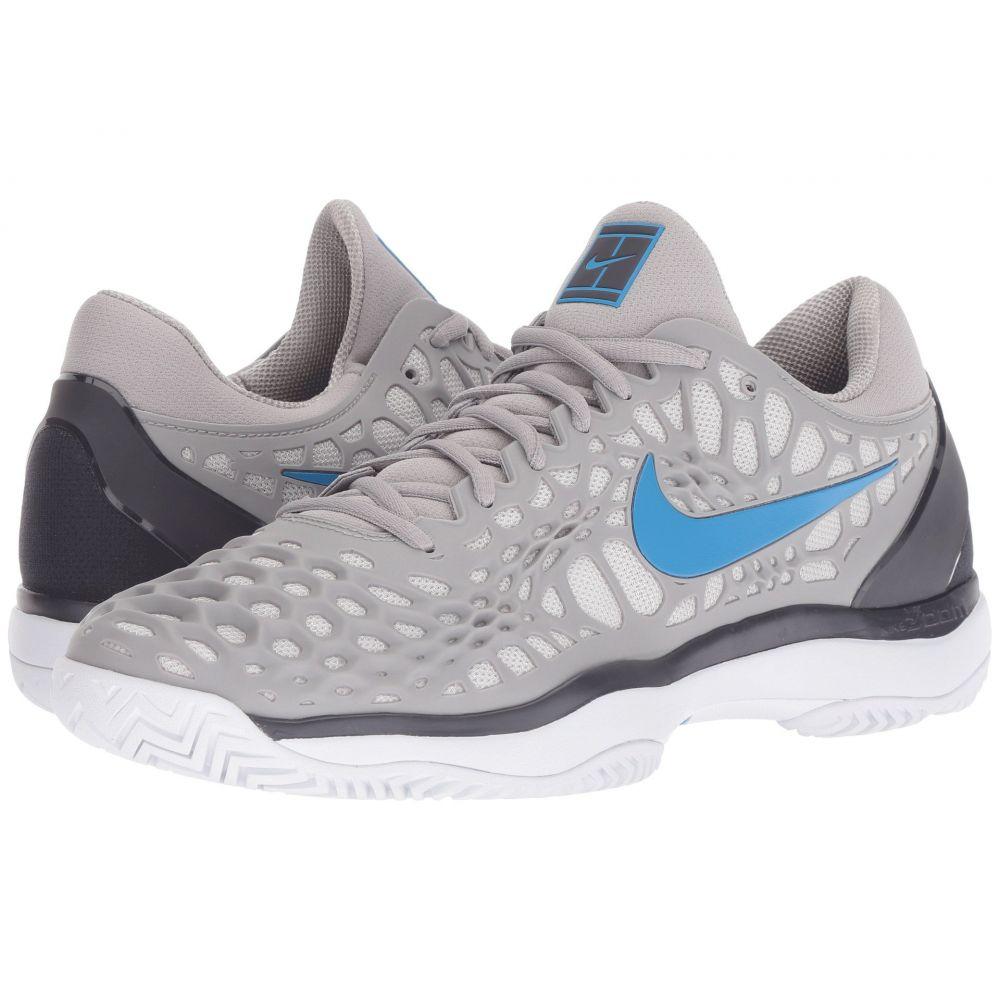 ナイキ Nike メンズ テニス シューズ・靴【Zoom Cage 3 HC】Atmosphere Grey/Photo Blue/Gridiron