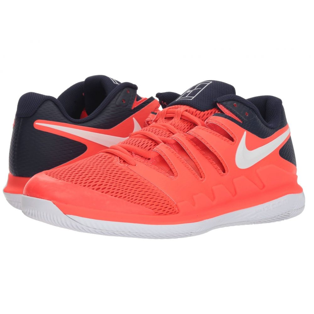 ナイキ Nike メンズ テニス シューズ・靴【Air Zoom Vapor X】Bright Crimson/White/Blackened Blue