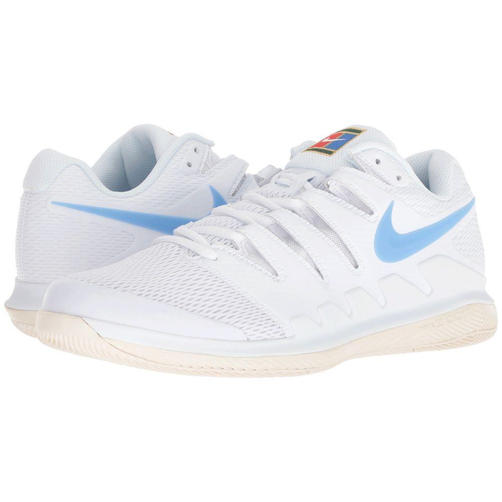 ナイキ Nike メンズ テニス シューズ・靴【Air Zoom Vapor X】White/University Blue/Light Cream