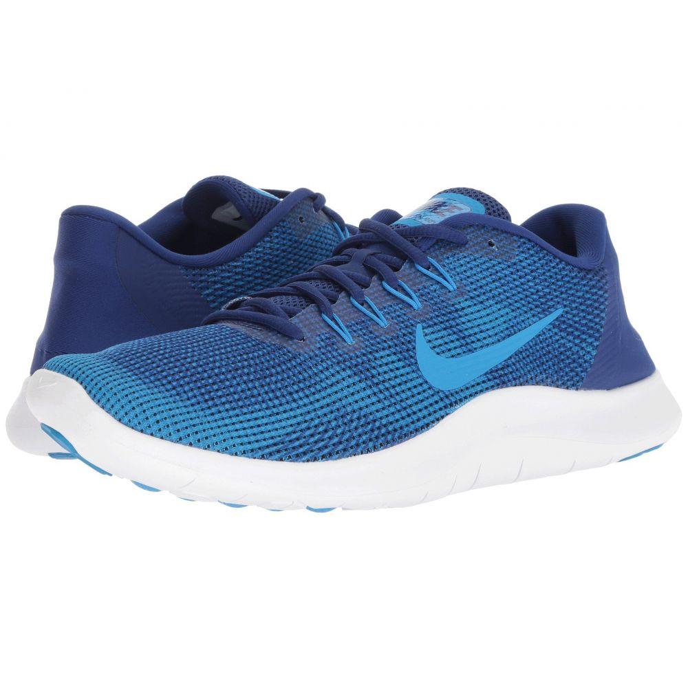 ナイキ Nike メンズ ランニング・ウォーキング シューズ・靴【Flex RN 2018】Deep Royal Blue/Blue Hero/White