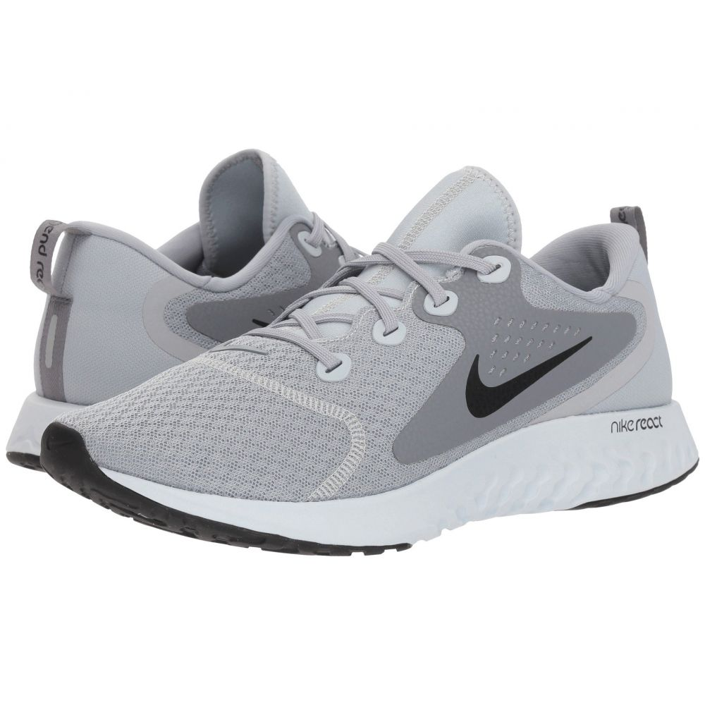 ナイキ Nike メンズ ランニング・ウォーキング シューズ・靴【Legend React】Wolf Grey/Black/Cool Grey/Pure Platinum