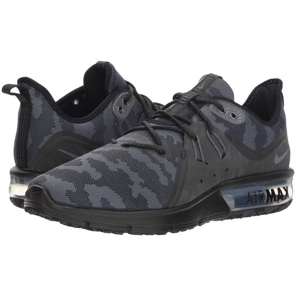 ナイキ Nike メンズ ランニング・ウォーキング シューズ・靴【Air Max Sequent 3 Premium】Black/Dark Grey