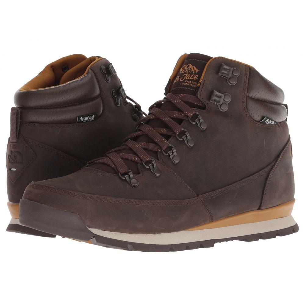 ザ ノースフェイス The North Face メンズ ハイキング・登山 シューズ・靴【Back-To-Berkeley Redux Leather】Chocolate Brown/Golden Brown