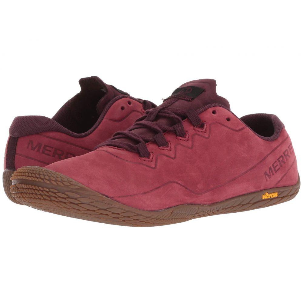 メレル Merrell レディース ランニング・ウォーキング シューズ・靴【Vapor Glove 3 Luna Leather】Pomegranate