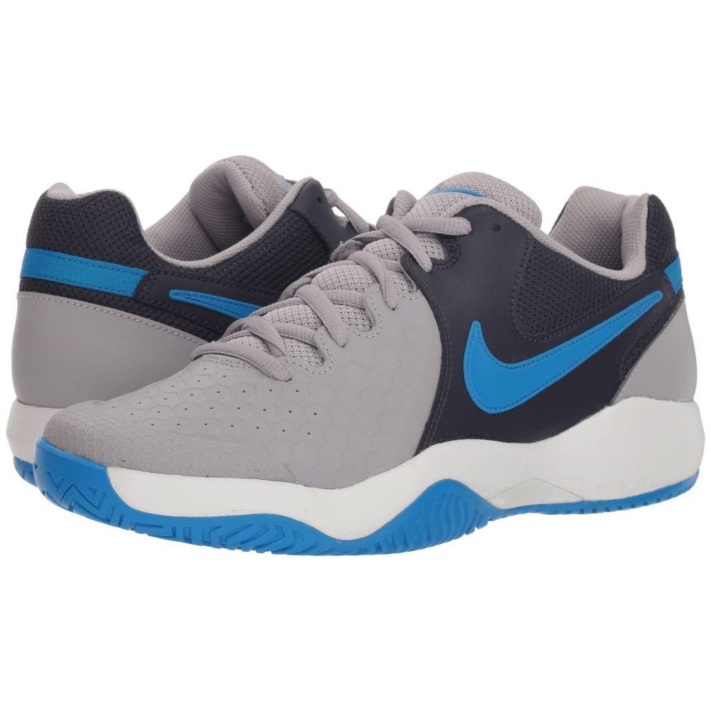 ナイキ Nike メンズ テニス シューズ・靴【Air Zoom Resistance】Atmosphere Grey/Photo Blue/Gridiron