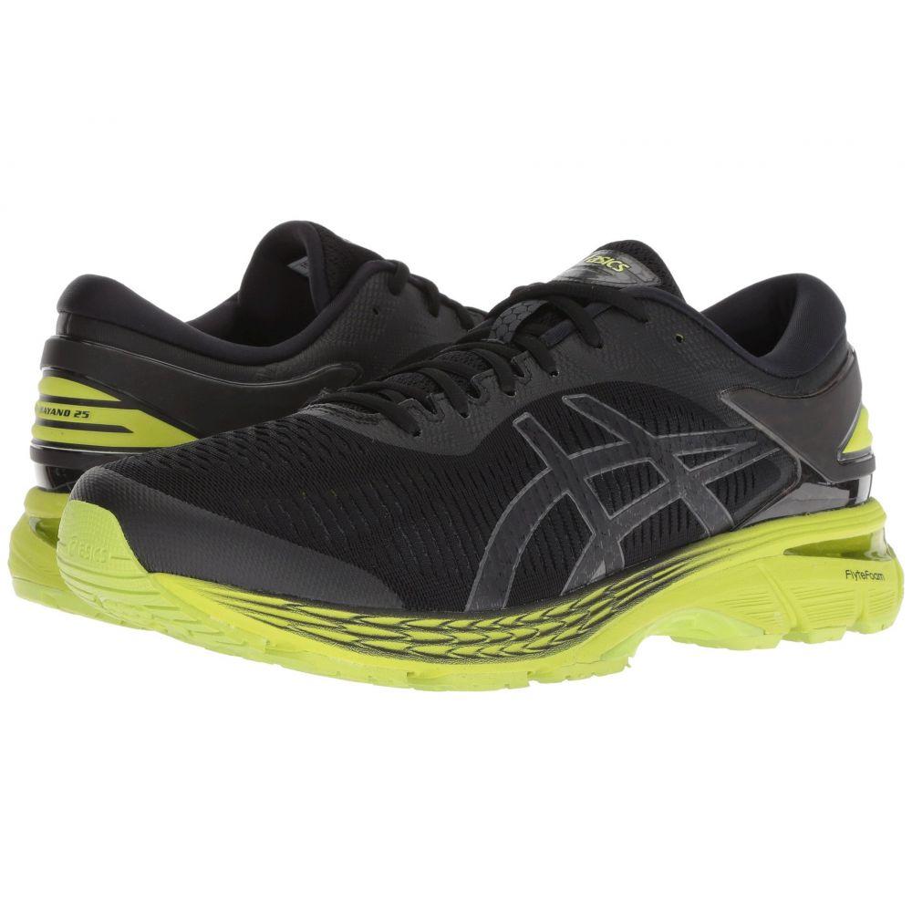 アシックス ASICS メンズ ランニング・ウォーキング シューズ・靴【GEL-Kayano 25】Black/Neon Lime