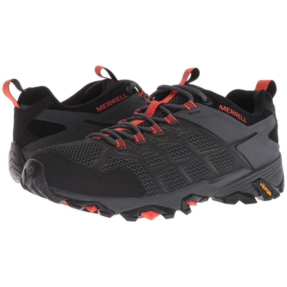 メレル Merrell メンズ ハイキング・登山 シューズ・靴【Moab FST 2】Black/Granite