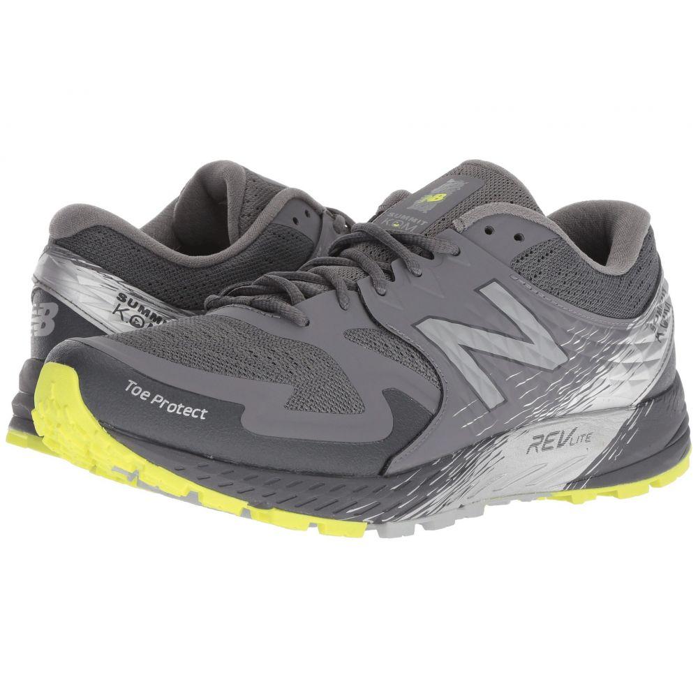 ニューバランス New Balance メンズ ランニング・ウォーキング シューズ・靴【Summit KOM】Magnet/Hi-Lite