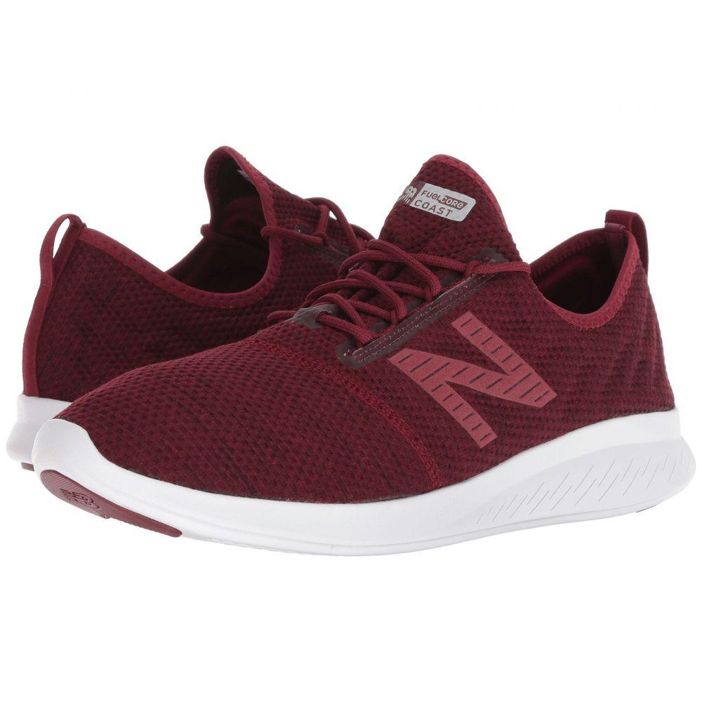 日本最大の ニューバランス New Balance メンズ メンズ ランニング・ウォーキング シューズ New・靴【Coast v4】Burgundy/Black, リブレイン:47e0b2ce --- canoncity.azurewebsites.net