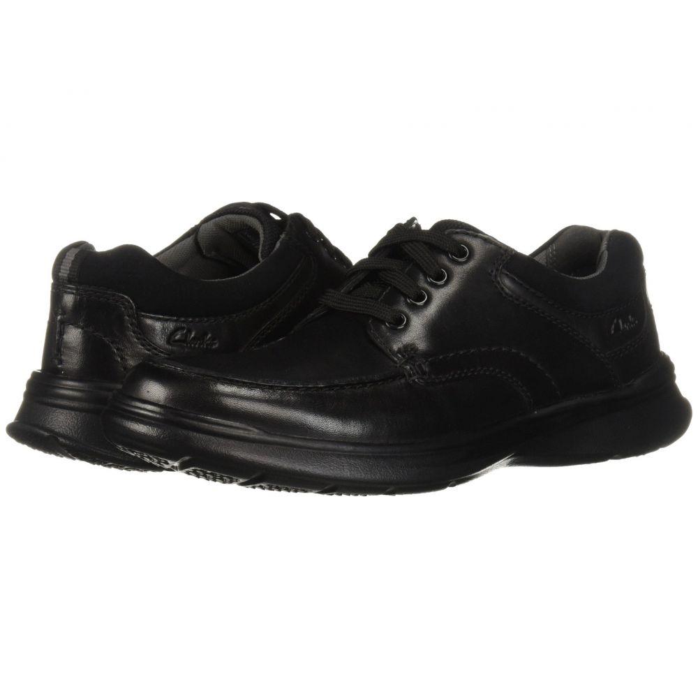 クラークス Clarks メンズ シューズ・靴 スニーカー【Cotrell Edge】Black Smooth Leather