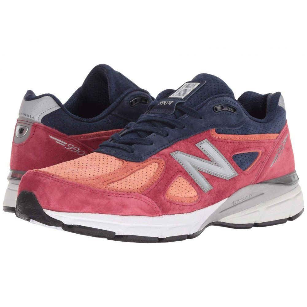 ニューバランス New Balance メンズ ランニング・ウォーキング シューズ・靴【M990V4】Copper Rose/Pigment